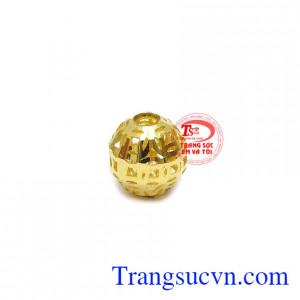 Charm kim tiền vàng thịnh vượng