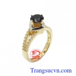 Nhẫn nữ Sapphire thịnh vượng 10k