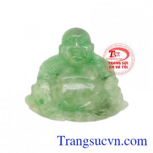 Phật di lặc ngọc cẩm thạch tài lộc