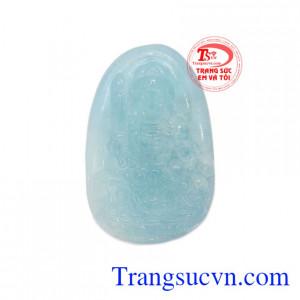Mặt Aquamarine Phật bản mệnh tuổi Mão