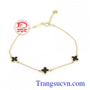 Lắc tay vàng Korea xinh xắn