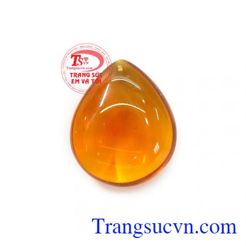 Mặt đá Amber phú quý