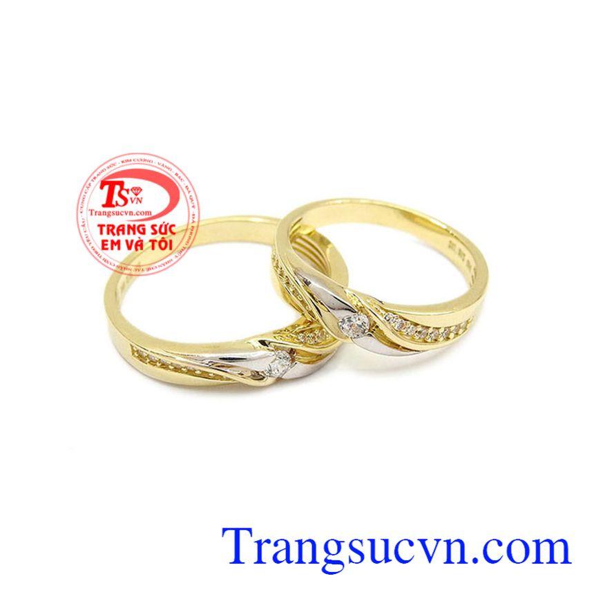 Nhẫn cưới Korea 10k chất lượng