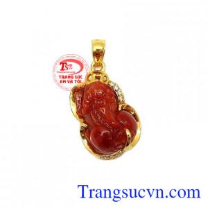 Mặt dây tỳ hưu vàng 14k đẹp là một trong những sản phẩm được khách hàng yêu thích và lựa chọn,Mặt dây tỳ hưu vàng 14k đẹp