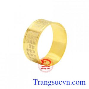 Nhẫn nam vàng 10k độc đáo