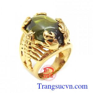 Nhẫn nam vàng tây bọ cạp