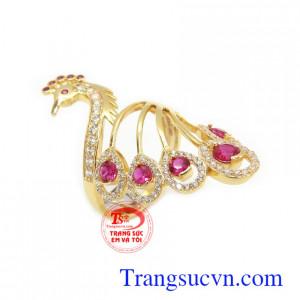 Nhẫn nữ vàng thời trang 10k