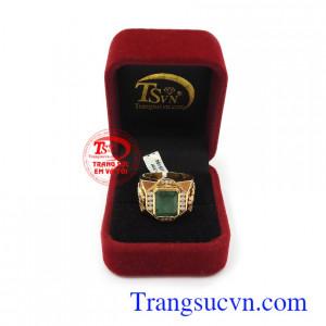 Nhẫn nam vàng tây uy tín, chất lượng, bảo hành 12 tháng