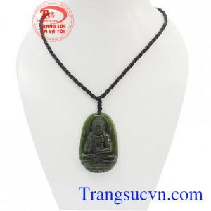 Phật bản mệnh tuổi Tuất - Hợi ngọc Nephrite