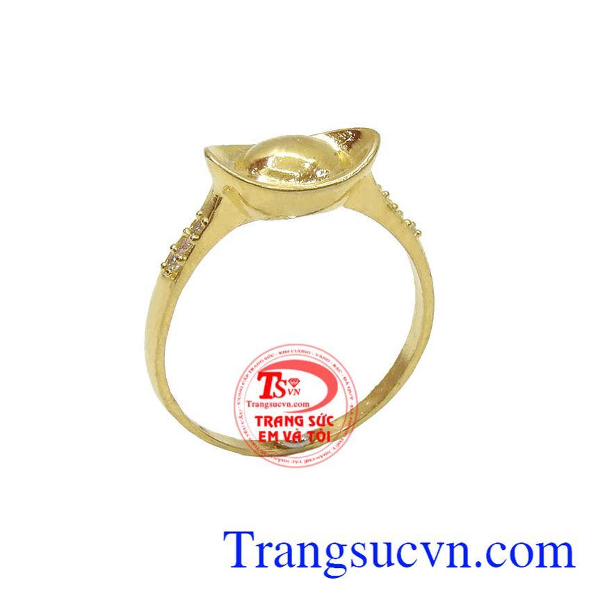 Nhẫn vàng Thần Tài