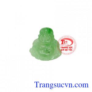 Mặt ngọc jadeite Phật Di Lặc đẹp