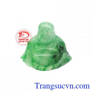 Mặt phật di lặc Jadeite phúc lộc là sản phẩm được chế tác đẹp, có giấy kiểm định đá tự nhiên,Mặt phật di lặc Jadeite phúc lộc
