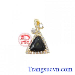 Mặt sapphir thiên nhiên quyến rũ