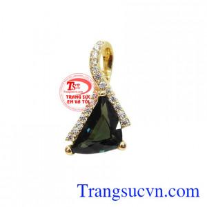 Mặt sapphir thiên nhiên sang trọng
