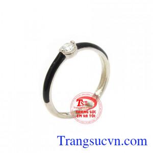 Nhẫn bạc nữ thanh lịch