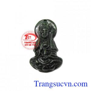 Phật quan âm phỉ thúy bình an