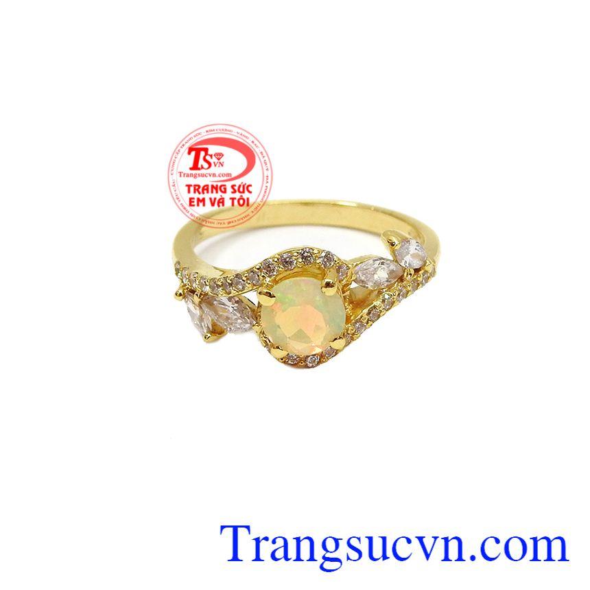 Sản phẩm thích hợp làm quà tặng cho người thân hoặc bạn bè trong các dịp lễ, tết,Bộ trang sức đá Opal