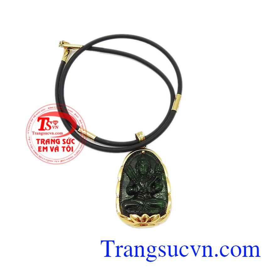Bộ trang sức được bảo hành uy tín, giao hàng toàn quốc. Bộ trang sức phật jadeite tuổi sửu-tuổi dần.