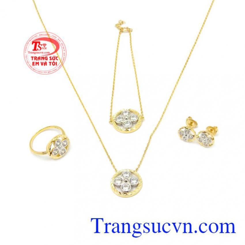 Bộ trang sức vàng 10k Korea
