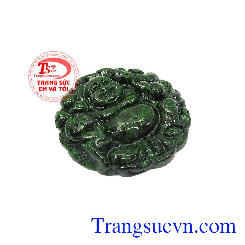 Đeo mặt Ngọc Jade điều hòa cân bằng cảm xúc, ổn định tim mạch và huyết áp,Mặt Jadeite di lặc khí chất