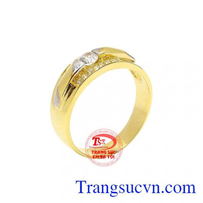 Nhẫn nam vàng 10k tinh tế đẹp