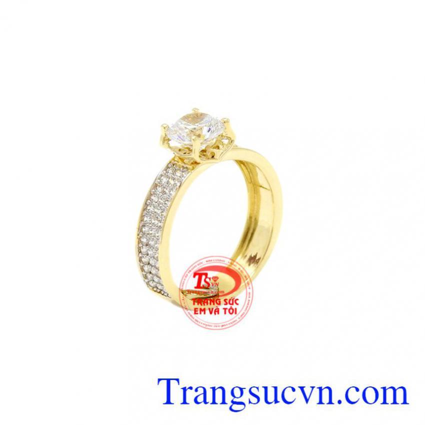 Nhẫn nữ Cartier vàng 10k