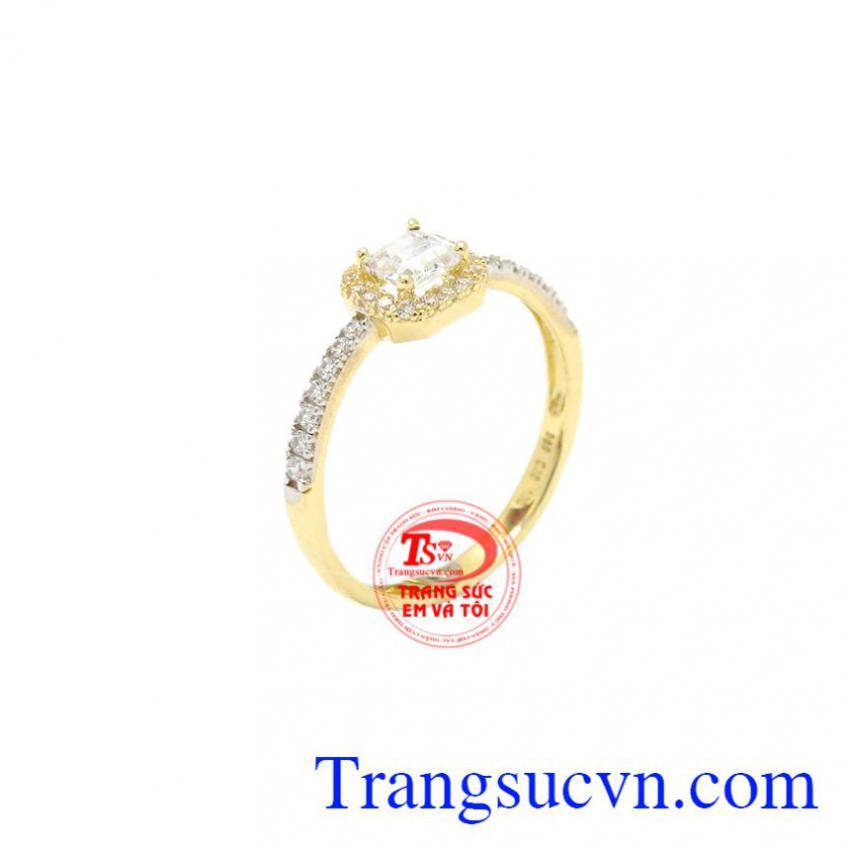 Nhẫn nữ Korea tinh tế 10k