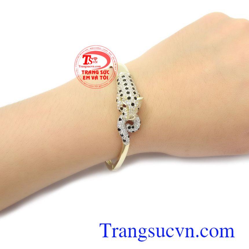 Vòng tay vàng Korea xinh xắn thời trang nhập khẩu nguyên chiếc