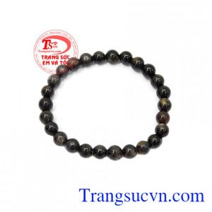 Sapphire được xem là biểu tượng cho sự giàu sang, thịnh vượng, tình yêu và lòng thủy chung,Chuỗi tay Sapphire 6 ly