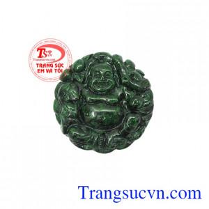 Mặt Jadeite di lặc khí chất là sản phẩm ngọc cẩm thạch thiên nhiên, đám bảo, có giấy kiểm định,Mặt Jadeite di lặc khí chất