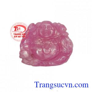 Phật Di Lặc Đá Ruby Bình An