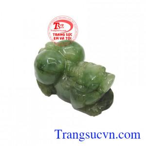 Tỳ hưu ngọc jadeite may mắn