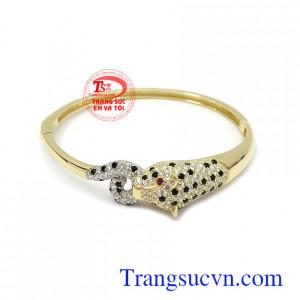Vòng tay vàng Korea xinh xắn 10k nhập khẩu nguyên chiếc bền đẹp, chất lượng, kiểu dáng thời trang