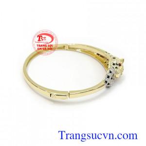 Vòng tay vàng Korea xinh xắn phù hợp nhiều loại trang phúc và thời trang phái đẹp