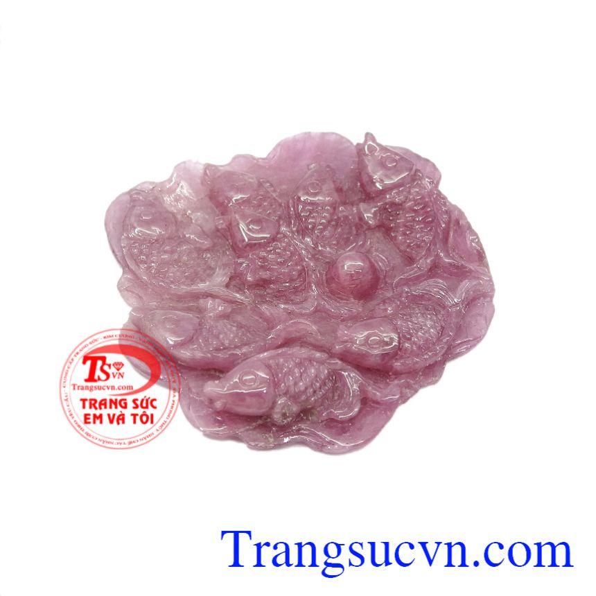 Từ thời xa xưa người dân Việt đã quá quen thuộc với hình ảnh cá chép. Mặt cá chép ruby chất lượng