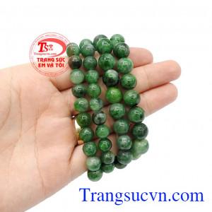 Sản phẩm thích hợp làm quà tặng cho người thân hoặc bạn bè,Chuỗi hạt vòng cổ ngọc cẩm thạch thiên nhiên TSVN