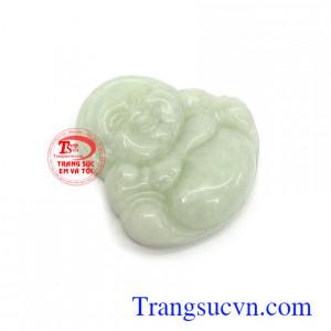 Phật di lặc phớt lục ngọc A phù hợp làm mặt dây chuyền đeo đẹp, tinh tế và đẳng cấp