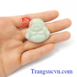 Phật di lặc phớt lục ngọc A cẩm thạch thiên nhiên sang trọng, đẳng cấp