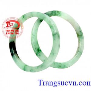 Vòng tay ngọc cẩm thạch thiên nhiên TSVN