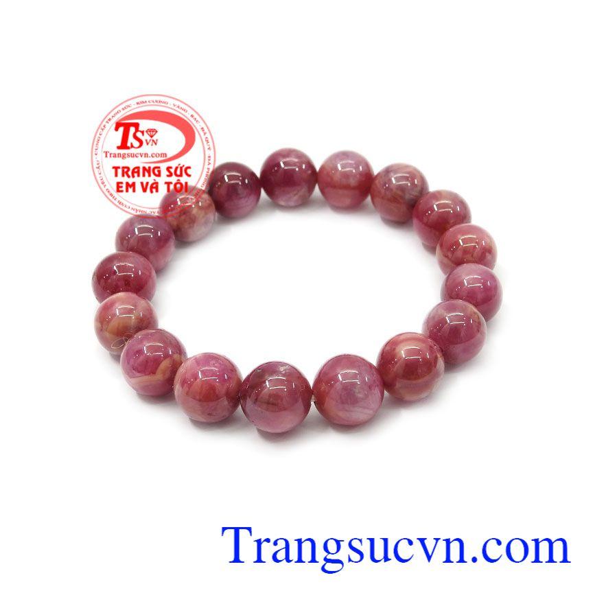Người châu âu thời trung đại cổ tin rằng hồng ngọc tiếp thêm cho họ sức khỏe, sự thịnh vượng, trí tuệ và cuộc sống tình yêu viên mãn,Chuỗi tay Ruby 12 ly