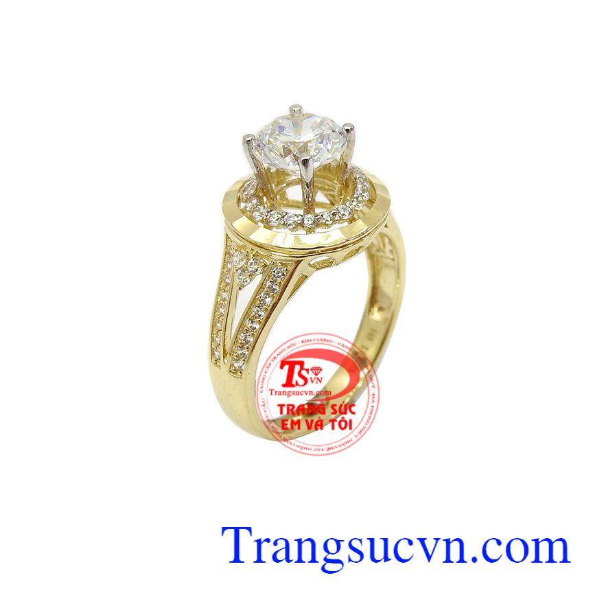 Nhẫn nữ vàng xinh xắn