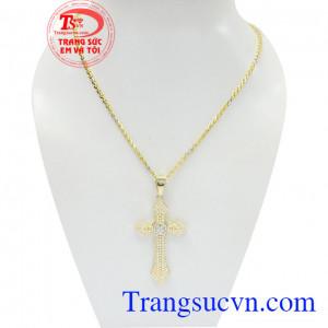 Bộ dây chuyền thánh giá đẹp là được chế tác độc đáo, tinh xảo và sắc nét và vô cùng tỉ mỉ