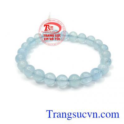 Chuỗi aquamarine xinh cho nữ