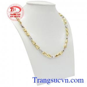 Dây chuyền vàng nam lịch lãm mang đến sự mạnh mẽ và đẳng cấp cho phái mạnh