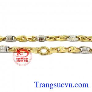 Dây chuyền vàng nam sang trọng vàng 10k, bảo hành 6 tháng, giao hàng nhanh trên toàn quốc