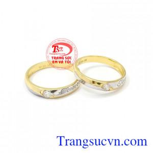 Nhẫn cưới Forever hạnh phúc là sự kết nối bền chặt, bên nhau trọng đời.