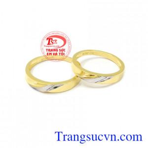 Nhẫn cưới gắn kết đôi lứa