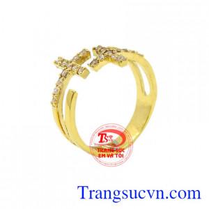 Nhẫn nữ thánh giá đẹp