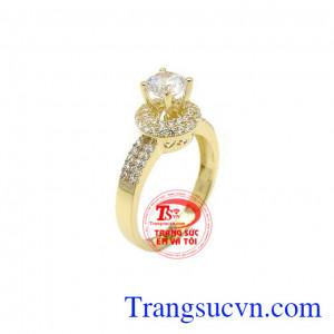 Nhẫn nữ vàng đẹp tinh tế