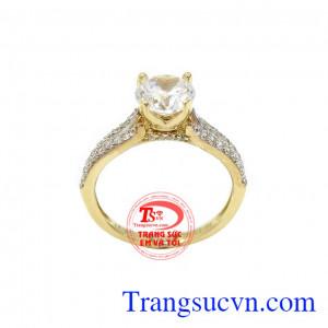 Nhẫn nữ vàng hạnh phúc đem đến sự hài lòng cho khách hàng